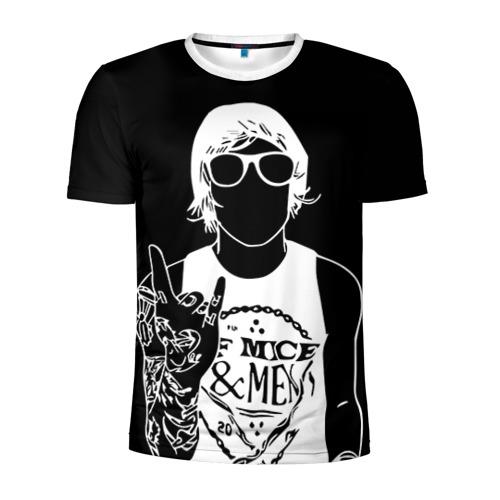 Мужская футболка 3D спортивная  Фото 01, Of Mice & Men