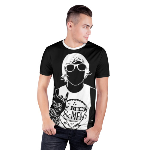 Мужская футболка 3D спортивная  Фото 03, Of Mice & Men
