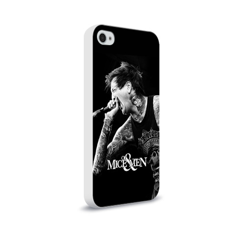 Чехол для Apple iPhone 4/4S soft-touch  Фото 02, Of Mice & Men