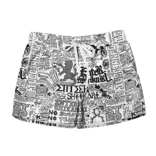 Женские шорты 3D Enter Shikari