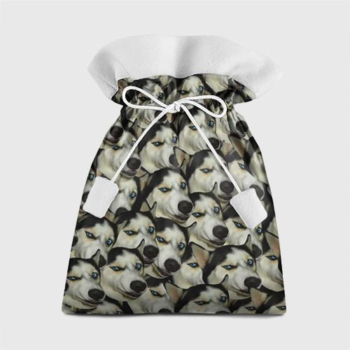 Подарочный 3D мешок Хаски