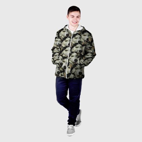 Мужская куртка 3D  Фото 03, Хаски