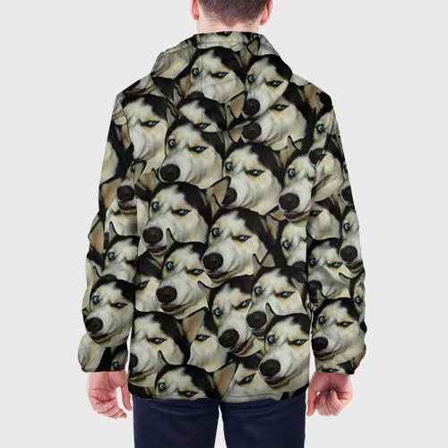 Мужская куртка 3D  Фото 05, Хаски