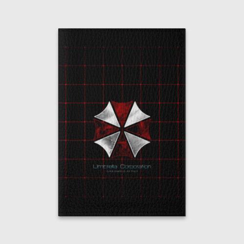Обложка для паспорта матовая кожа Umbrella Corporation - 2 Фото 01