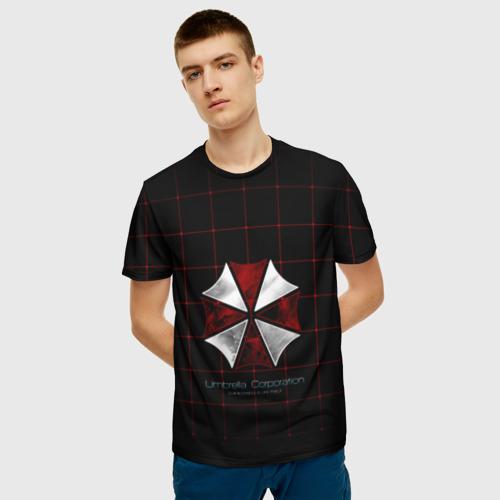 Мужская футболка 3D Umbrella Corporation - 2 Фото 01