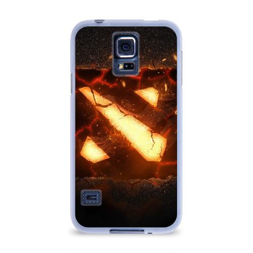 Чехол для Samsung Galaxy S5 силиконовый  Фото 01, Dota