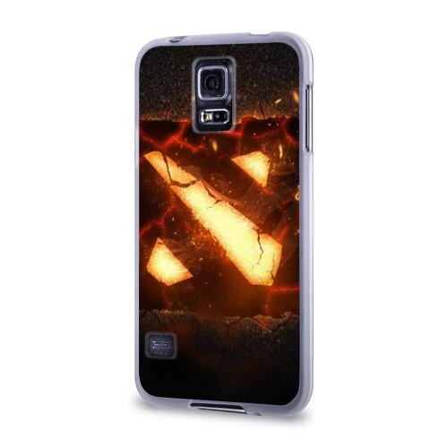 Чехол для Samsung Galaxy S5 силиконовый  Фото 03, Dota