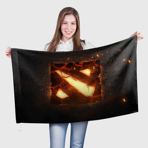 Флаг 3D  Фото 01, Dota
