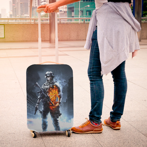 Чехол для чемодана 3D Battlefield Фото 01