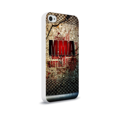 Чехол для Apple iPhone 4/4S soft-touch  Фото 02, MMA