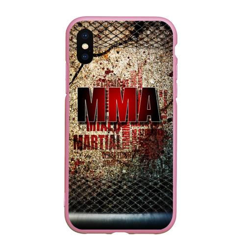 Чехол для iPhone XS Max матовый MMA Фото 01