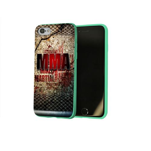 Чехол для Apple iPhone 8 силиконовый глянцевый MMA Фото 01