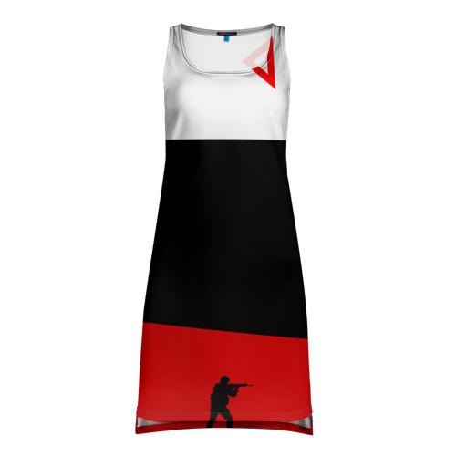 Платье-майка 3D awp cs go Фото 01