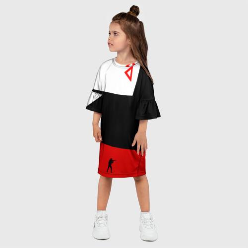 Детское платье 3D awp cs go Фото 01
