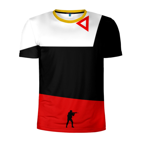 Мужская футболка 3D спортивная awp cs go Фото 01