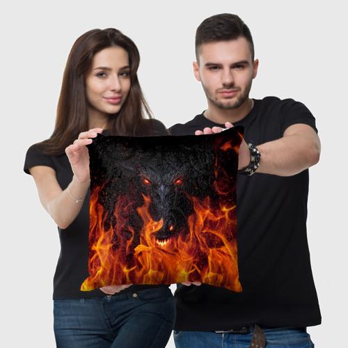 Подушка 3D  Фото 03, Devil