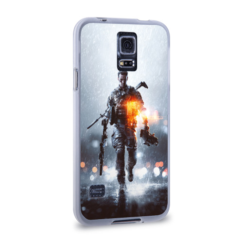 Чехол для Samsung Galaxy S5 силиконовый  Фото 02, Battlefield