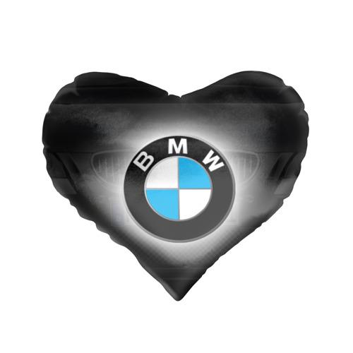 Подушка 3D сердце  Фото 01, BMW