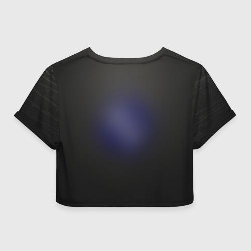Женская футболка 3D укороченная  Фото 02, bmw
