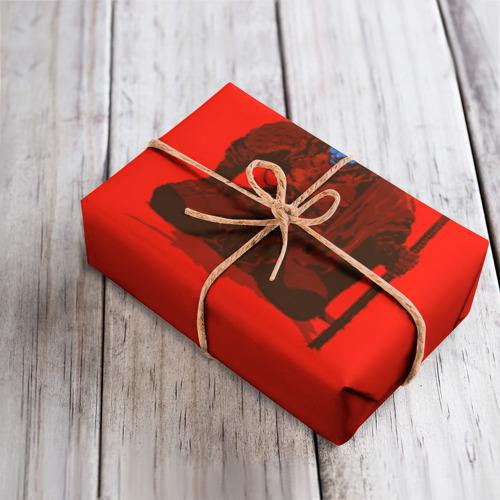 Бумага для упаковки 3D Ронин Фото 01