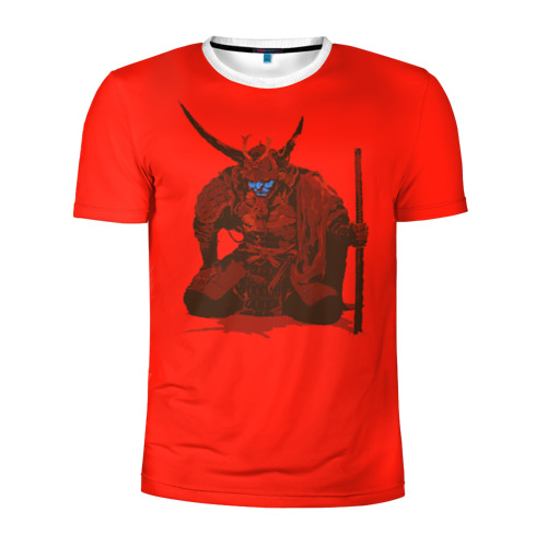 Мужская футболка 3D спортивная  Фото 01, Ронин