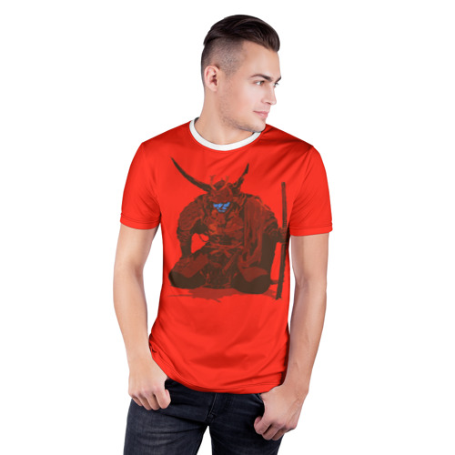 Мужская футболка 3D спортивная  Фото 03, Ронин