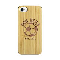 Чехол для Apple iPhone 7 деревянныйЦСКА