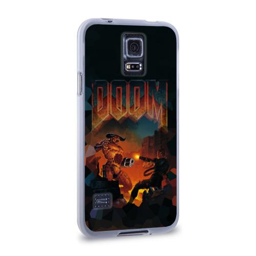 Чехол для Samsung Galaxy S5 силиконовый  Фото 02, Doom 2