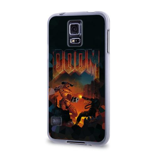 Чехол для Samsung Galaxy S5 силиконовый  Фото 03, Doom 2