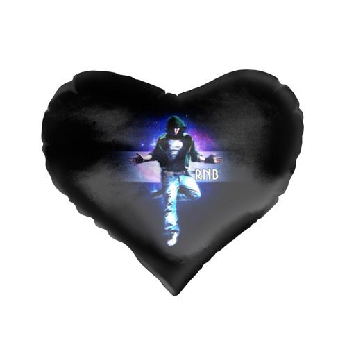 Подушка 3D сердце  Фото 01, RnB