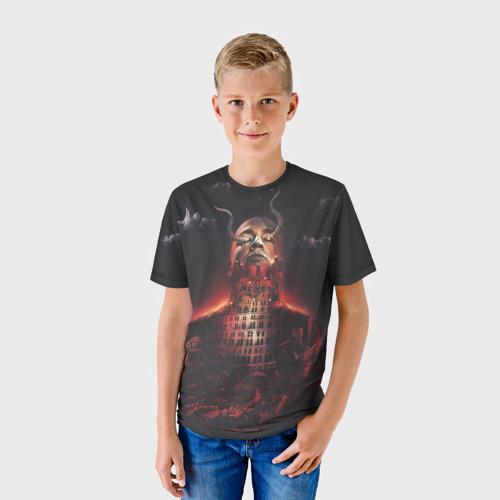 Детская футболка 3D Типичный Oxxxymiron