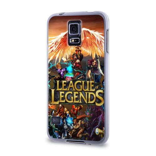 Чехол для Samsung Galaxy S5 силиконовый  Фото 03, League of legends all