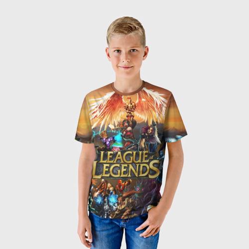 Детская футболка 3D  Фото 01, League of legends all