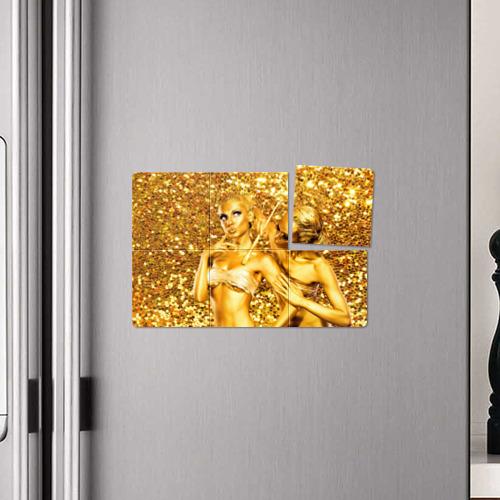 Магнитный плакат 3Х2 Боди-арт Фото 01