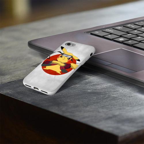 Чехол для Apple iPhone 8 силиконовый глянцевый  Фото 03, narupi