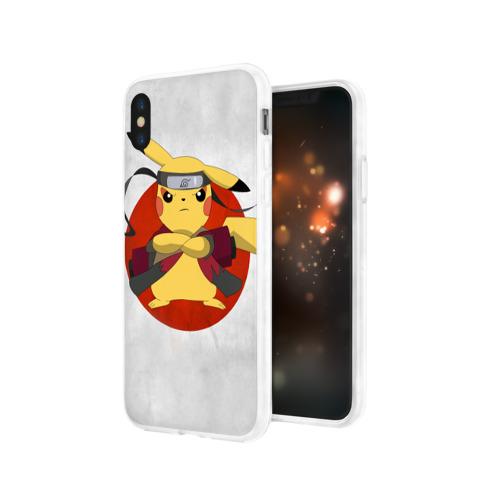 Чехол для Apple iPhone X силиконовый глянцевый  Фото 03, narupi