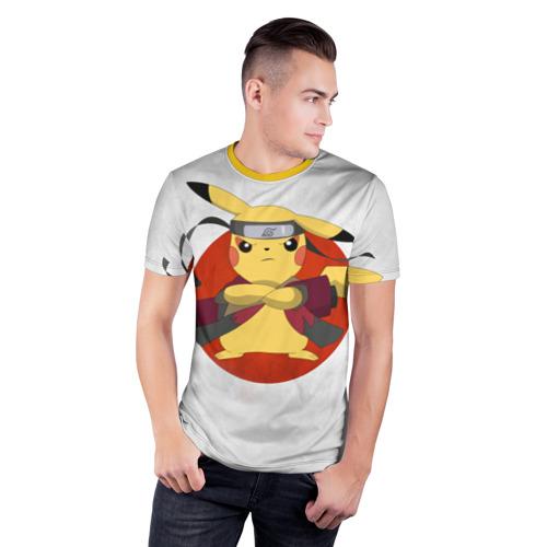 Мужская футболка 3D спортивная  Фото 03, narupi