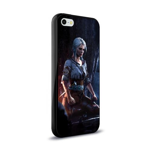 Чехол для Apple iPhone 5/5S силиконовый глянцевый  Фото 02, Цири