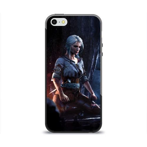 Чехол для Apple iPhone 5/5S силиконовый глянцевый  Фото 01, Цири