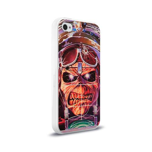 Чехол для Apple iPhone 4/4S силиконовый глянцевый  Фото 02, Iron maiden 2