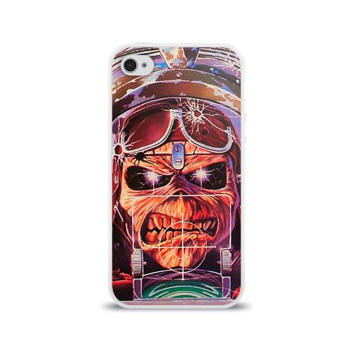 Чехол для Apple iPhone 4/4S силиконовый глянцевый  Фото 01, Iron maiden 2