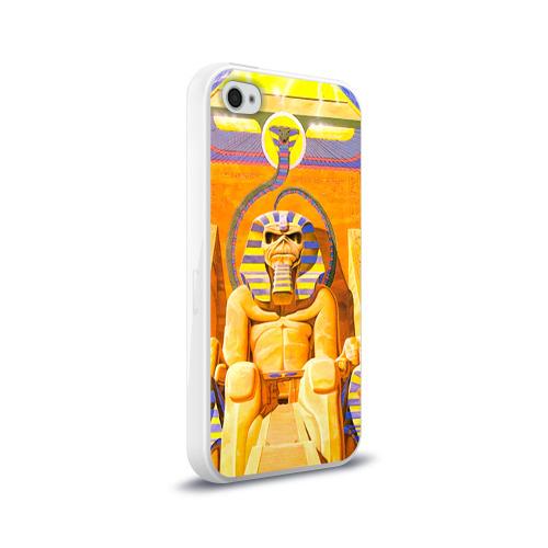 Чехол для Apple iPhone 4/4S силиконовый глянцевый  Фото 02, Iron maiden 3