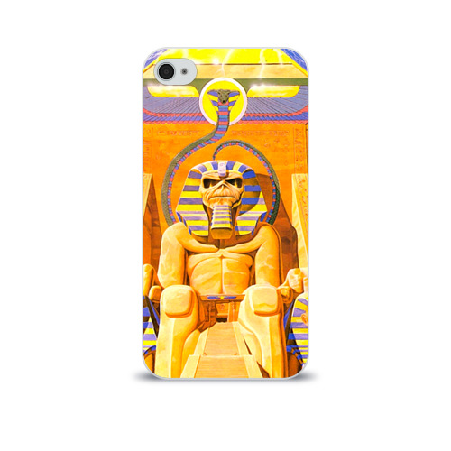 Чехол для Apple iPhone 4/4S soft-touch  Фото 01, Iron maiden 3