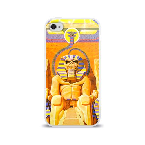 Чехол для Apple iPhone 4/4S силиконовый глянцевый  Фото 01, Iron maiden 3