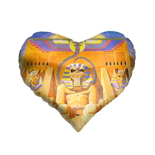 Подушка 3D сердце  Фото 01, Iron maiden 3