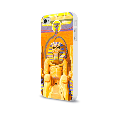 Чехол для Apple iPhone 4/4S soft-touch  Фото 03, Iron maiden 3