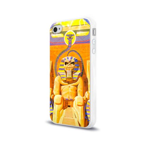 Чехол для Apple iPhone 4/4S силиконовый глянцевый  Фото 03, Iron maiden 3