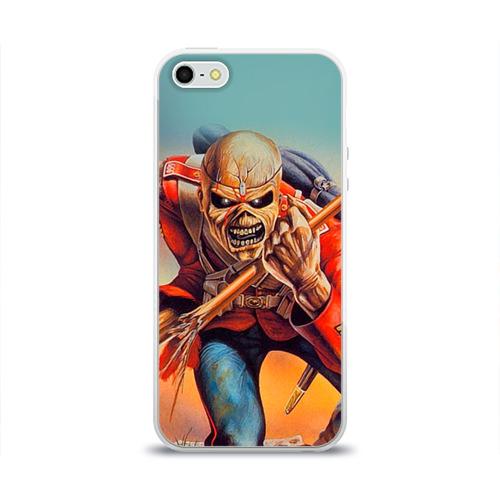 Чехол для Apple iPhone 5/5S силиконовый глянцевый  Фото 01, Iron maiden 5