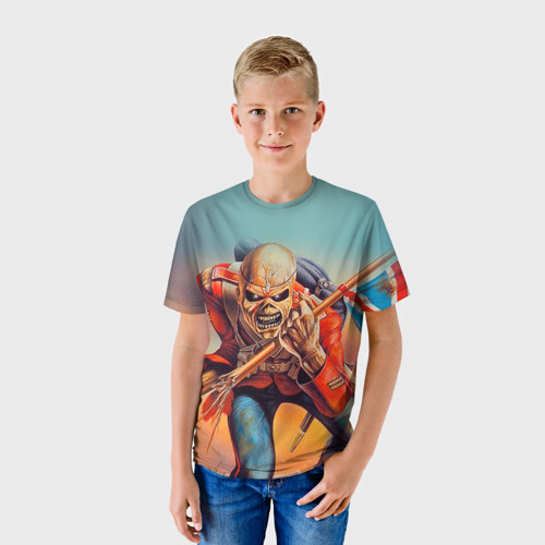 Детская футболка 3D Iron maiden 5