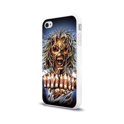 Чехол для Apple iPhone 4/4S силиконовый глянцевый  Фото 03, Iron maiden 6